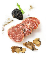 Sausage with truffles