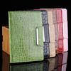 for mini ipad case , Wholesale For iPad mini Case , Classic Croco Folio PU Leather Case With Stand Cover