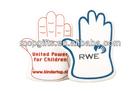Custom giant cheer EVA foam hand/fingers