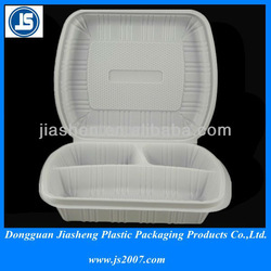 Lunch Box Food Grade Plastic Food Container with Divider