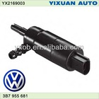 Volkswagen VW Headlight 12V washer pump wiper motor