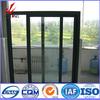 anodized finish champagne wood hot sale thermal break sliding aluminum window
