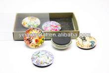 Home Deco Gift Set Lamp Dome Crystal Fridge Magnet