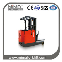 3.0T Seat Type Electric Reach Forklift /electric reach stacker / electric stacker