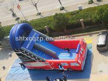 inflatable fire truck slide , inflatable pumper slide , fun slide