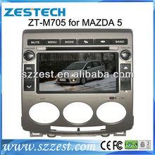 Zestech Car Radio 2din dvd rds am fm tv ipod aux for mazda 5