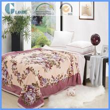 200*240cm queen size home warm plain style mink blanket