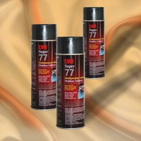 DM-77 spray adhesive glue for textile printing binder