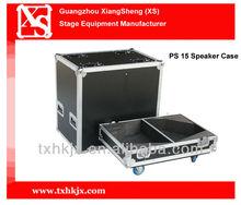Professional custom built aluminum flight case for speaker