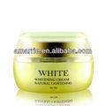 botânico de ácido kójico e arbutin e vitamina c natural face creme de beleza de clareamento da pele