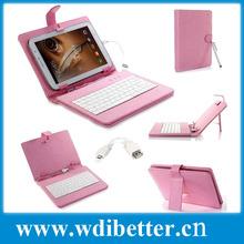 7'' Leather case usb keyboard bracket for 7 inch Android Allwinner Ainol Novo Epad Tablet PC Netbook