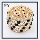 2014 dubai gold jewelry bracelets & bangles crystal bead jewerly