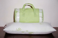 Natural Bamboo Fiber Shreded Memory Foam Pillow/ Memory Foam Chips Pillow,