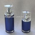 Nuevo diseño de perfume cosmética botella de plástico cosméticos botellas de loción cosmética botella de diseño