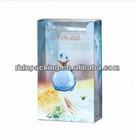 2014 new style plastic folding box for perfume/nail polish oil