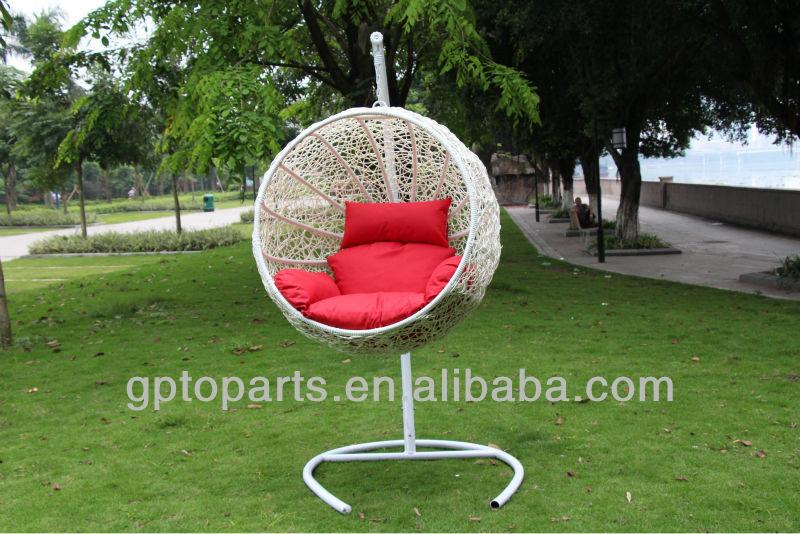 Circulaire Chaises En Rotin Oeuf Fauteuil Suspendu Cocon