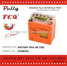 12V 3AH YB3L-BS i gel motorcycle battery