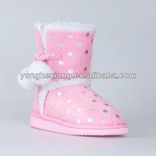 2015 girl fasion design winter snow boot