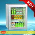 Porta de vidro mini frigobar/mini geladeira