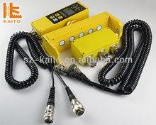Asphalt concrete spreader Vogele S1800 sensor and handle
