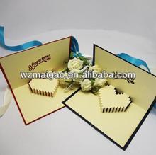 New Arrival: High-grade Romantic Wedding Invitation Card/Wedding Greeting Card