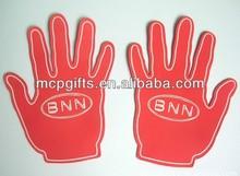 Cheap promotional EVA hand/foam finger/custom eva foam hand