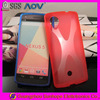 X wave TPU cell phone/mobile cover/case for Google Nexus 5