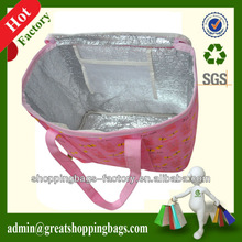 customized nonwoven aluminium foil cooler bag