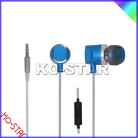 Cheap earphone and headphone with graceful timbre and best quality stereo in-ear earphone for all mobile phone /MP3, MP4 player