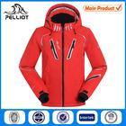 hooded custom women waterproof jacket