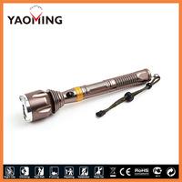 super tiger flashlight 10WATT 2*18650 batteries flashlight supplier