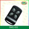 4 keys plastic case remote control SMG-032