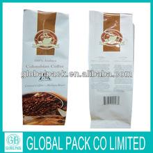 2014 Best Sale Coffee Bag Wholesale/Coffee Tea Bag/Printed Coffee Bag