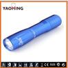 tiny flashlights aluminum LED flashlight gift torches colorful YaoMing