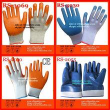 Heavy Duty, Wide Cuff, Open-Back Nitrile Coated Work Gloves
