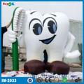 maravillosa publicidad inflable del cepillo de dientes y los dientes
