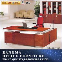 Office furniture bangkok modern solid wood executive desk|high tech executive office desk commercial furniture