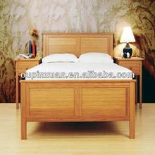 2014 mais novo Eco friendly de bambu cama, Móveis de bambu conjuntos