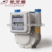 Dual Mode M-BUS & IC Card Prepayment Aluminium Case Gas Meter G4.0
