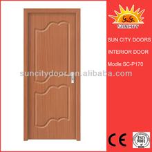 Wooden grain pvc lamination door film with factory price SC-P170