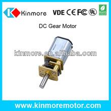 new style micro high torque 6v dc gear motor