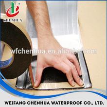 self-adhesive bitumen sealing tape, self-adhesive rubber membrane, bitumen roofing tape