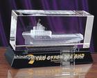 3D Laser Crystal ship Model