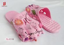 2014personality Animal cute fish pink flip flops