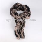 2014 Sya hot sale new deisign fashion ladies Faux Fur Scarf