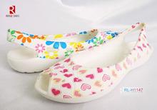 2014 Spa lighted loofah flip flop sandals