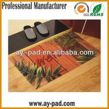 Fabric Surface Kids Rubber Floor Carpet Mat Customized Shape / Design For Home, Customized Rubber Floor Mat