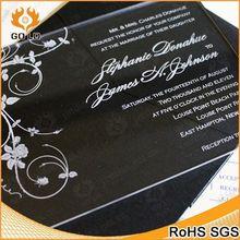 fashionable acrylic card holder manufacture,acrylic luxury wedding invitation card