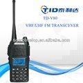 Funk-tastatur walkie- talkie für die Polizei