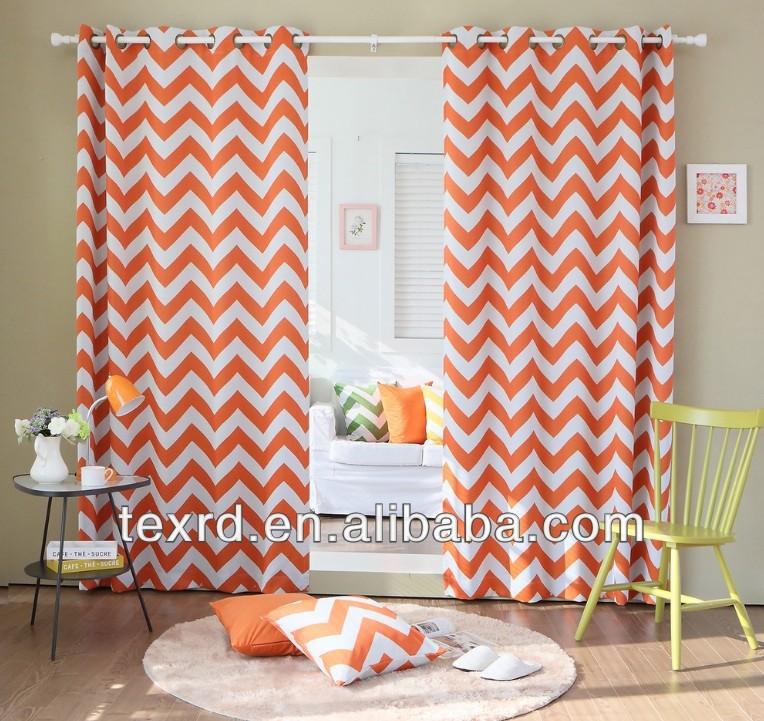 2014 Lastest Printing Design Curtain